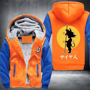 Veste DBZ orange et bleu
