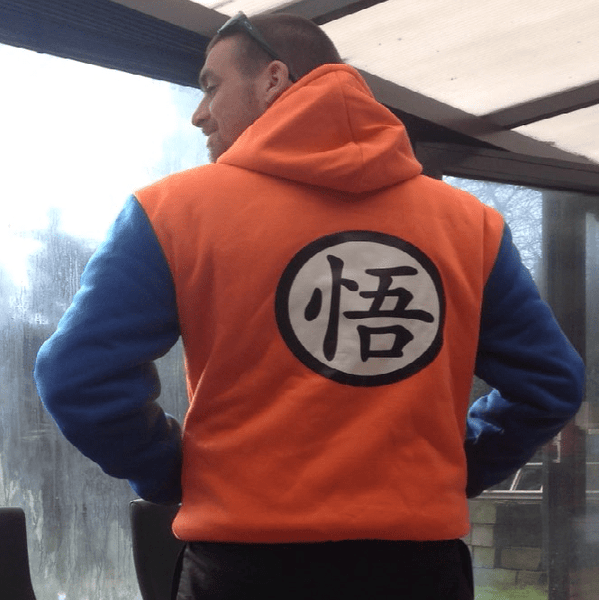 Veste Dragon Ball Z Orange Kanji Go