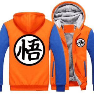 Veste Dragon Ball Z Orange