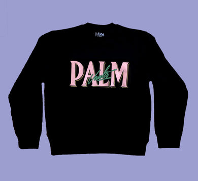 Palm Vaults Sweater Black