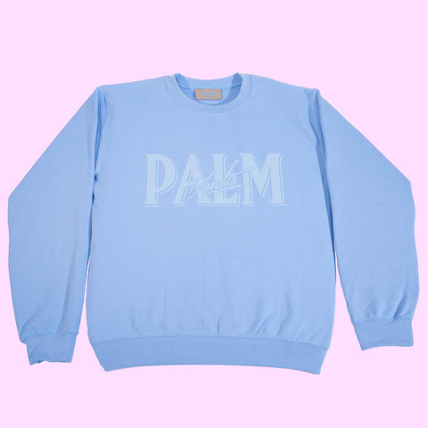 Palm Vaults Blue Jumper