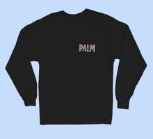 Load image into Gallery viewer, Palm Vaults Long Sleeve Tee  Black (Logo Front & Back)