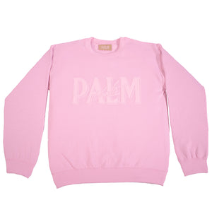 Palm Vaults Pink Jumper