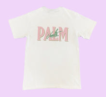 Load image into Gallery viewer, Palm Vaults Tee White (Logo Front & Back)