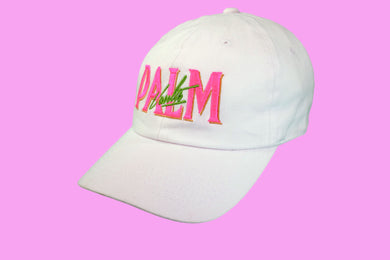 Palm Vaults Cap White (Acid)
