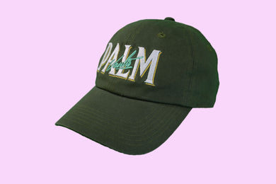 Palm Vaults Cap Dark Green (Army)