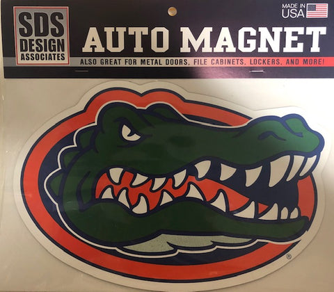"6"" Florida Gator Head Magnet"