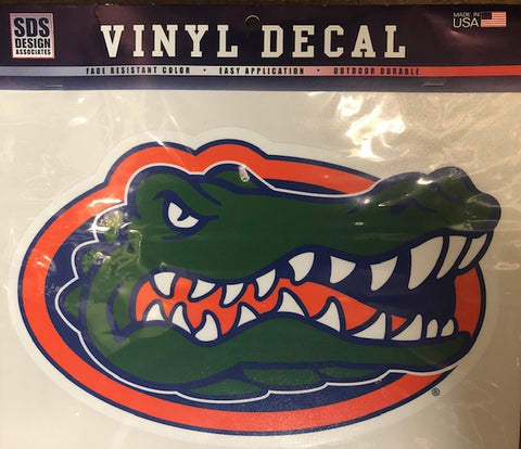 "Florida Gator 12"" Vinyl Decal"