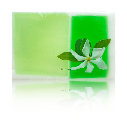 Maui Soap Co. - Gardenia Bar Soap with Kukui & Coconut Oil
