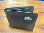 Florida Gator Men's Black Leather Bi-Fold Wallet
