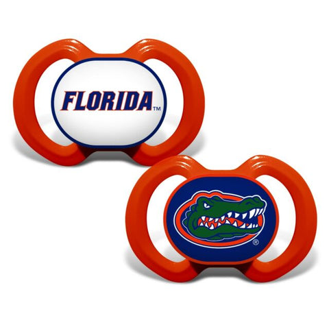 Florida Gators Orthodontic Pacifier Set of 2