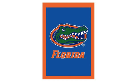 Florida Gators 2 Sided Applique Pole Flag