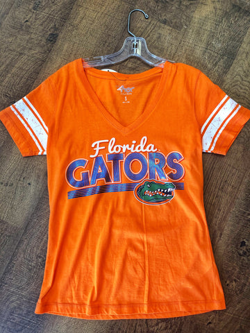 Florida Gators Striped Sleeve Retro Tee