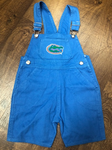 Florida Gators Toddler Short Overalls