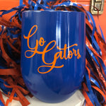 Go Gators Insulated Wine Tumbler