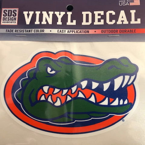 "3"" Full Color Florida Gator Head Vinyl Decal"