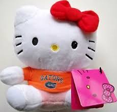 "6"" Florida University Hello Kitty"