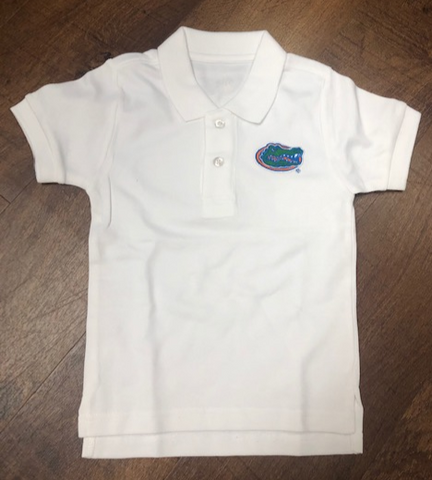 Florida Gators Toddler White Polo