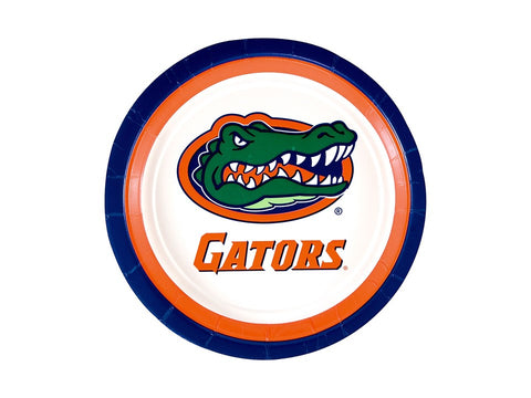 "Florida Gators 9"" Lunch Paper Plate - 10 Count"
