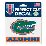 Gator Head Alumni Decal 4x5
