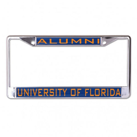 Alumni UF Inlaid Metal License Frame
