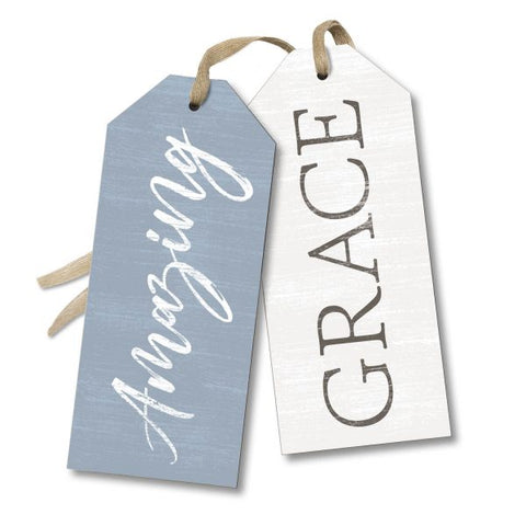 Amazing Grace Tag Sign Greeter