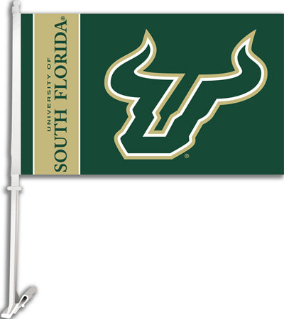 USF Bulls Banner Flag South Florida Double Sided