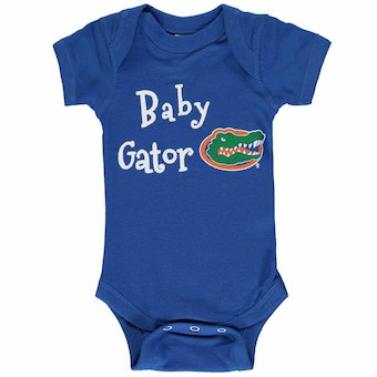 0d9ce9362f4 Florida Gators Newborn   Infant Baby Mascot Onesie