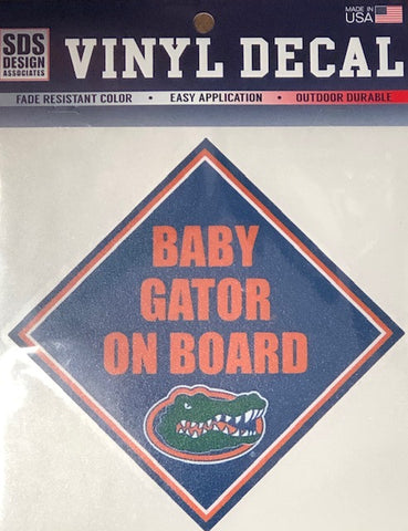 Baby Gator on Board Decal