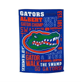 Florida Gators Blue Fan Rules Garden Flag