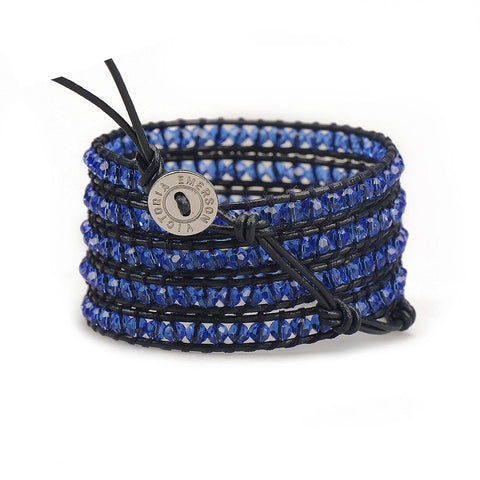 Royal Blue Wrap Bracelet