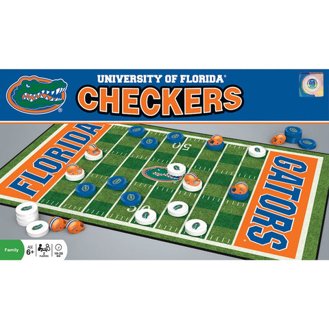 Florida Gators NCAA Checkers Set