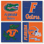 UF Stone Coasters Ass't 4-Pack