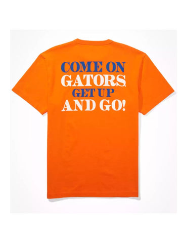 "Florida Gators Men's Orange ""Come On Gators"" T'Shirt"