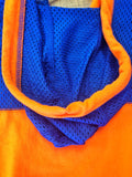 Sporty Orange Jersey Hoodie
