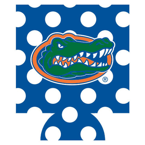Florida Dots Koozie - Blue