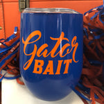 Gator Bait Insulated Wine Tumbler