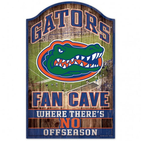 University of Florida Fan Cave Wood Sign
