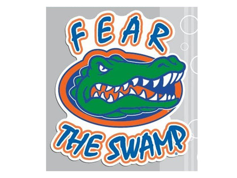 """Fear the Swamp"" 4"" Vinyl Decal"