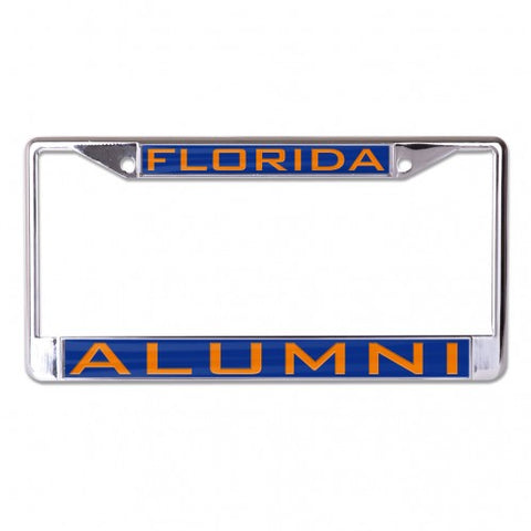 Florida Alumni Inlaid Metal License Frame