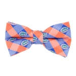 Florida Check Bow Tie