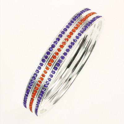 Florida Crystal Bangle Bracelet