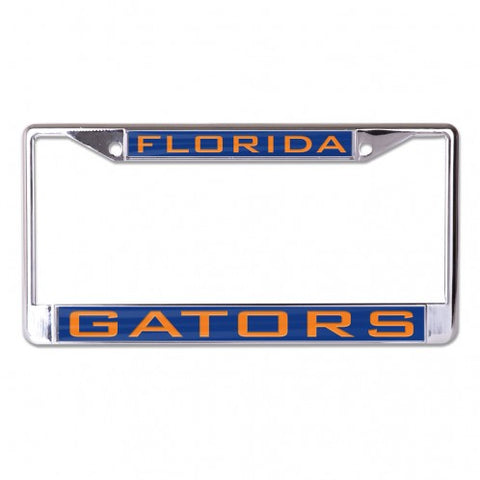 Florida Gators Metal Inlaid License Frame