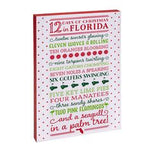 Florida Holiday Canvas Wall Art