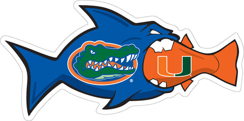 "3"" Florida / Miami Rivalfish Magnet"