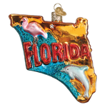 Old World Christmas State of Florida Ornament