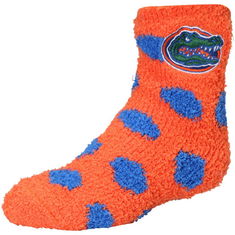 Florida Gators ZooZatz Fuzzy Ankle Socks