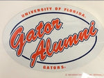 Florida Gators Oval Alumni Decal