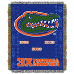 Florida Gators Woven Tapestry Throw