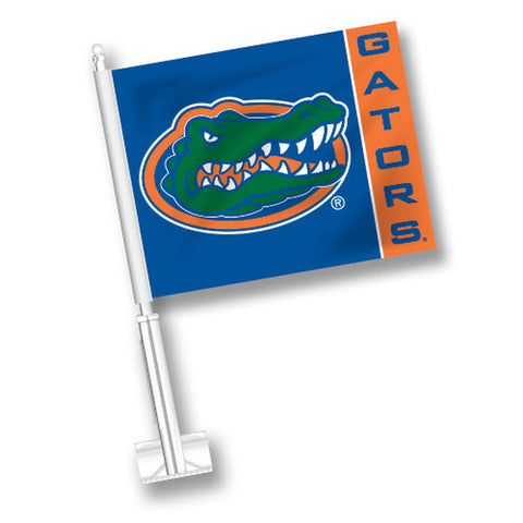 Florida Car Flag with Stripe